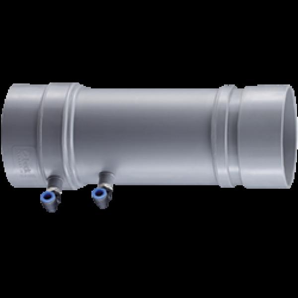 Volumenstrom-Messstelle standard, Muffenanschluss