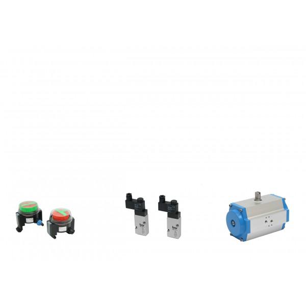 Pneumatische Klappenmotoren
