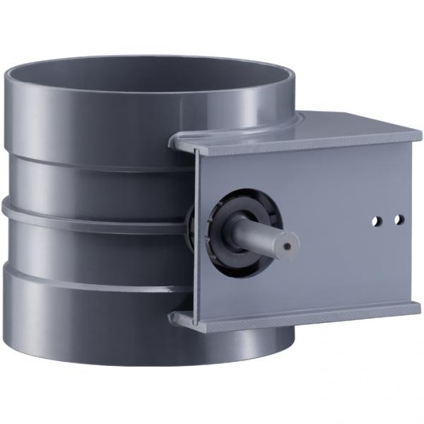 Drosselklappen standard mit Konsole für Stellmotor für elektrischen und pneumatischen Betrieb