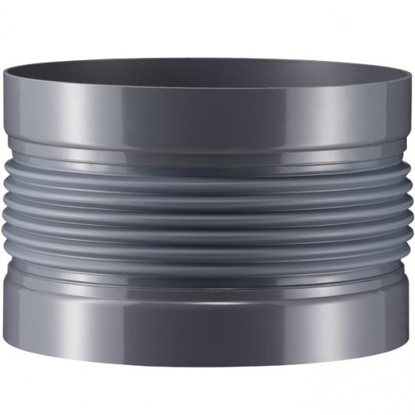 Wellflexmanschetten 6 mm, Flanschanschluss, 4-fach gewellt