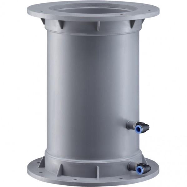 Volumenstrom-Messstelle standard, Flanschanschluss