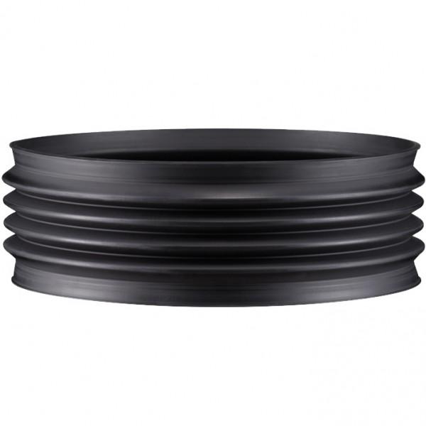 Wellflexmanschetten 6 mm für Befestigung mit Spannbändern