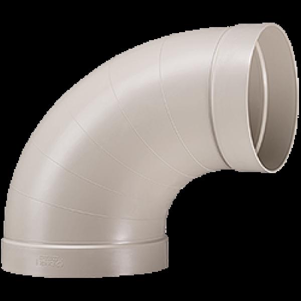 Rohrbögen 90° (segmentfrei)