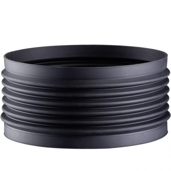 Wellflexmanschetten 3 mm für Befestigung mit Spannbändern